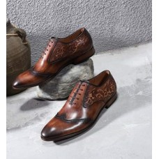 Nature Brown Beauty Men Shoes