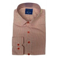 New Man Small Red Stripes Office Men Shirt