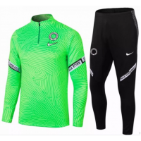 Nigeria Super Eagles Training Tracksuit Green 2020-21