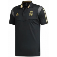 REAL MADRID BLACK POLO SHIRT 2019-20