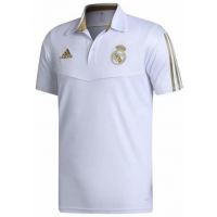 REAL MADRID WHITE POLO SHIRT 2019-20