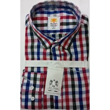 RIO ALVES Multi Coloured Checers Men Shirt