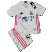 Real Madrid Home Kid Jersey 2020-2021
