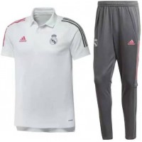 Real Madrid Tracksuit - White