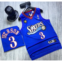 SIXERS NBA Basketball Jerseys -IVERSON