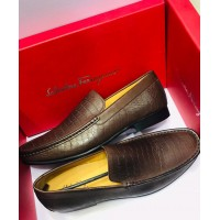 Salvatore Ferragamo Classic Spiral Men Shoes