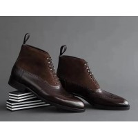 Sterling Ankle Suede Laceup Men Shoes