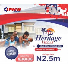 Buy Plots of Land |HERITAGE VILLAS, OWERRI